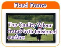 Main Category Fixed Projection Screen
