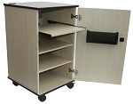 Sapphire STRV102 Sapphire Mobile Audio Visual Trolley - Light