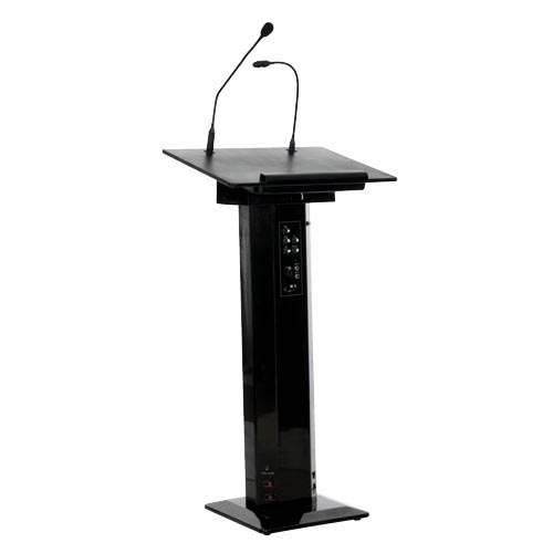 Sapphire - sound lectern in black
