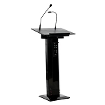 Sapphire Sound Lectern in Black