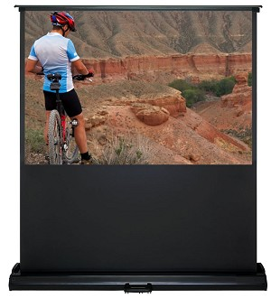 Sapphire Electric Floor Screen Infra Red Viewing Area 1422mm x 1607mm 4.3 Format Approx Case Dimensions L 1611mm x H 252mm x D 104mm