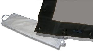 Sapphire 4m Rapid Fold Rear Fabric Only 4:3 for SFFS404FR or SFFS404RP