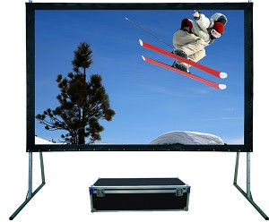 Sapphire Rapidfold Front Projection Viewing Area 2030mm x 1141mm 16:9 Format