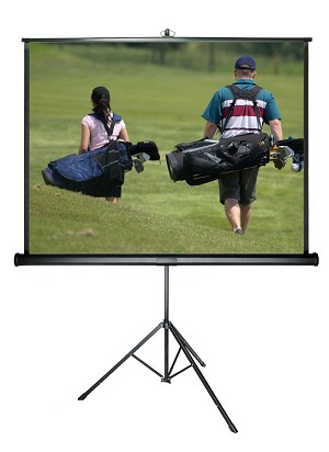 Sapphire Tripod Screen Viewing Area 1800mm x 1800mm 1:1 Format